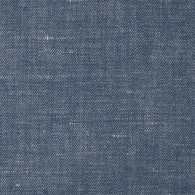 リネン&コットン×無地(ブルー)×サージシャンブレー_全3色 イメージ1
