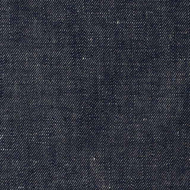 リネン&コットン×無地(ネイビー)×サージシャンブレー_全3色 イメージ1