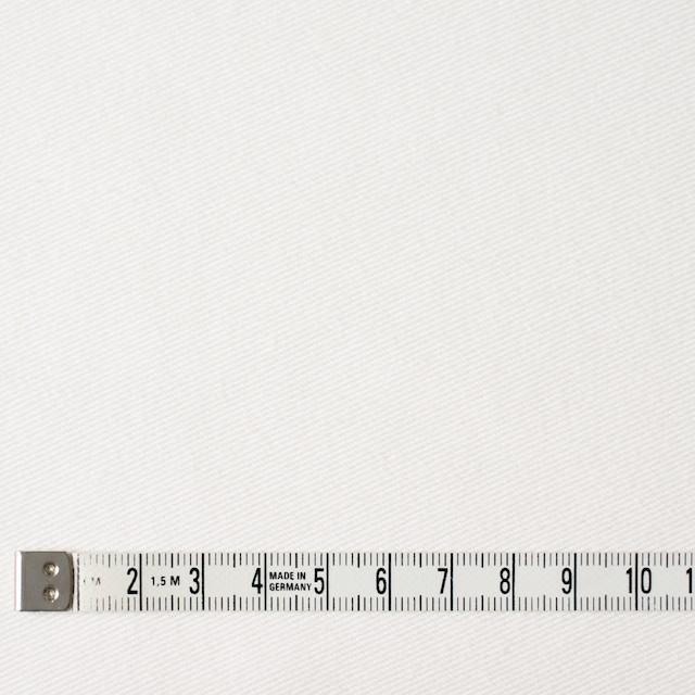 コットン&ポリエステル混×無地(オフホワイト)×デニムライクニット_全10色 イメージ4