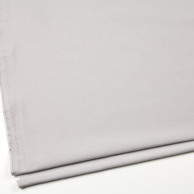 コットン&ポリエステル混×無地(ライトグレー)×デニムライクニット_全10色 イメージ2
