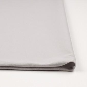 コットン&ポリエステル混×無地(ライトグレー)×デニムライクニット_全10色 サムネイル3