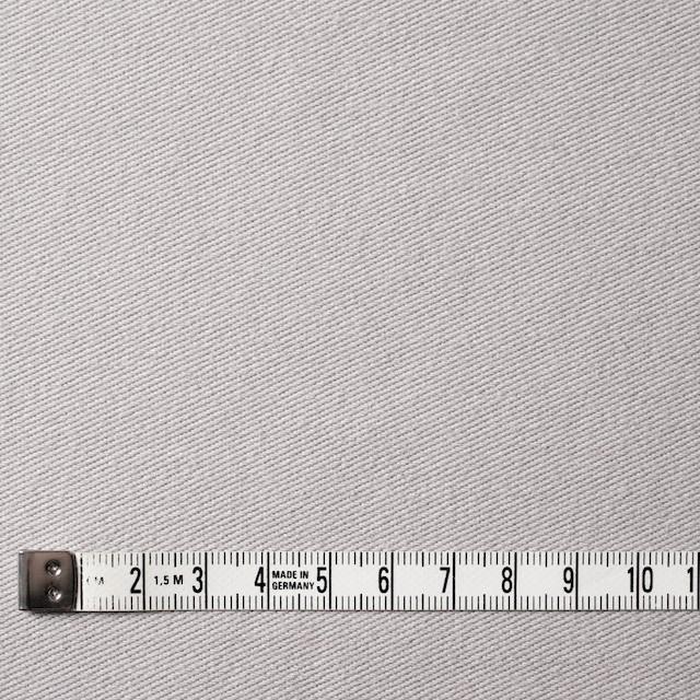 コットン&ポリエステル混×無地(ライトグレー)×デニムライクニット_全10色 イメージ4
