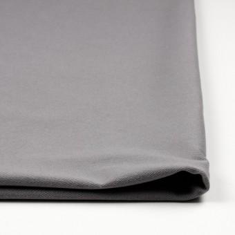 コットン&ポリエステル混×無地(グレー)×デニムライクニット_全10色 サムネイル3