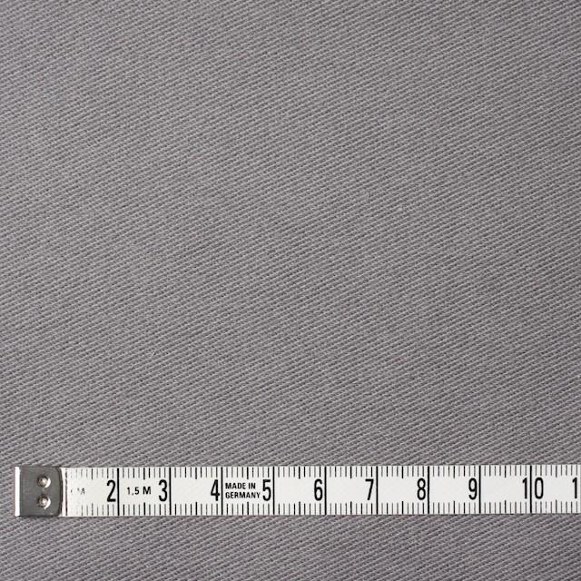 コットン&ポリエステル混×無地(グレー)×デニムライクニット_全10色 イメージ4