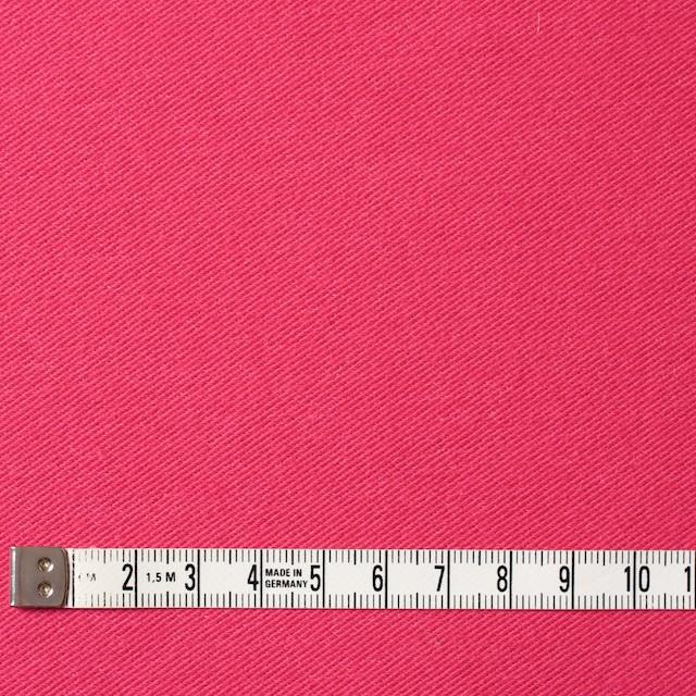 コットン&ポリエステル混×無地(ショッキングピンク)×デニムライクニット_全10色 イメージ4