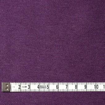 コットン&ポリエステル混×無地(パープル)×デニムライクニット_全10色 サムネイル4
