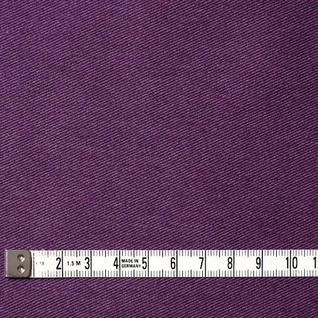コットン&ポリエステル混×無地(パープル)×デニムライクニット_全10色 イメージ4