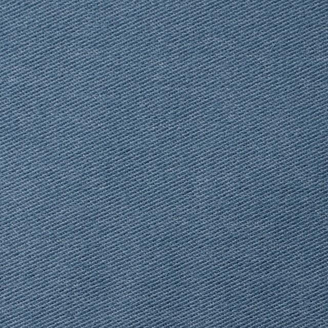 コットン&ポリエステル混×無地(ブルーグレー)×デニムライクニット_全10色 イメージ1