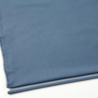 コットン&ポリエステル混×無地(ブルーグレー)×デニムライクニット_全10色 サムネイル2