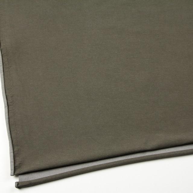 コットン&ポリエステル混×無地(カーキグリーン)×デニムライクニット_全10色 イメージ2