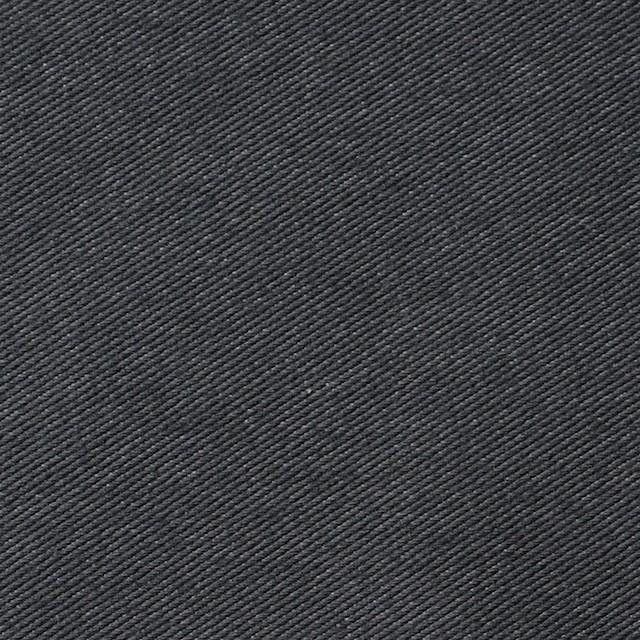 コットン&ポリエステル×無地(グーズグレー)×デニムライクニット_全10色 イメージ1