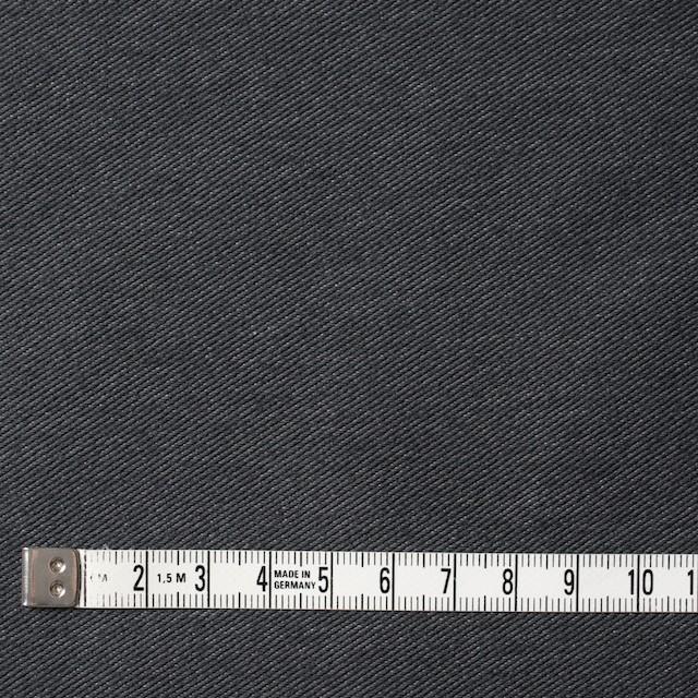 コットン&ポリエステル×無地(グーズグレー)×デニムライクニット_全10色 イメージ4