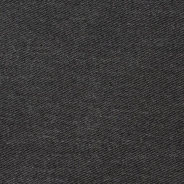 コットン&ポリエステル混×無地(チャコールグレー)×デニムライクニット_全10色 イメージ1