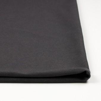 コットン&ポリエステル混×無地(チャコールグレー)×デニムライクニット_全10色 サムネイル3
