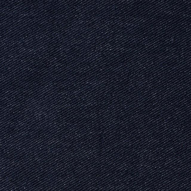 コットン&ポリエステル混×無地(ダークネイビー)×デニムライクニット_全10色 イメージ1