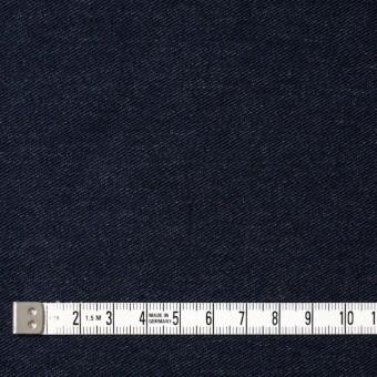コットン&ポリエステル混×無地(ダークネイビー)×デニムライクニット_全10色 サムネイル4