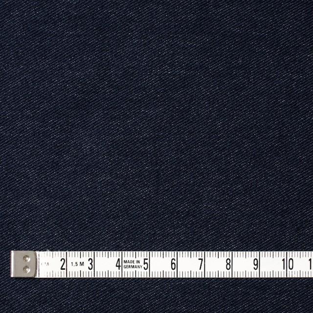 コットン&ポリエステル混×無地(ダークネイビー)×デニムライクニット_全10色 イメージ4