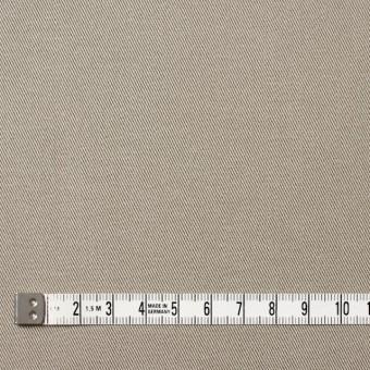 コットン&ポリウレタン×無地(グレイッシュベージュ)×チノクロス・ストレッチ_全4色 サムネイル4