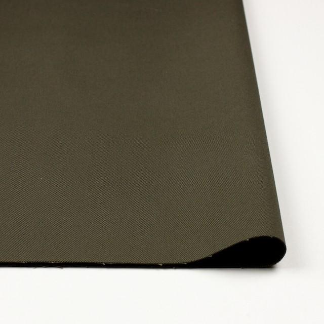 コットン&ポリウレタン×無地(カーキグリーン)×チノクロス・ストレッチ_全4色 イメージ3
