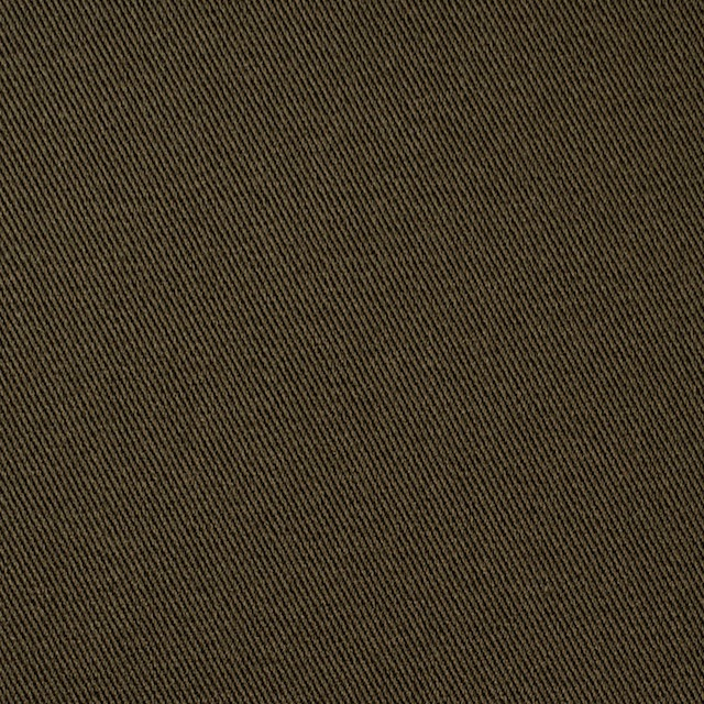 コットン&ポリウレタン×無地(カーキブラウン)×チノクロス・ストレッチ_全4色 イメージ1