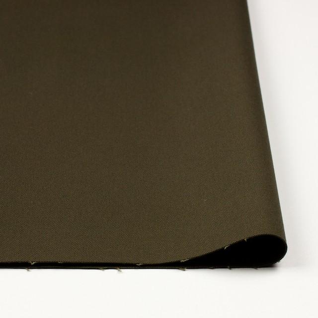 コットン&ポリウレタン×無地(カーキブラウン)×チノクロス・ストレッチ_全4色 イメージ3