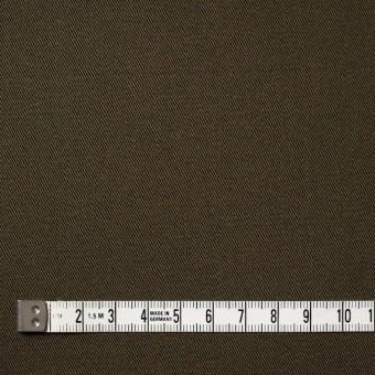 コットン&ポリウレタン×無地(カーキブラウン)×チノクロス・ストレッチ_全4色 サムネイル4
