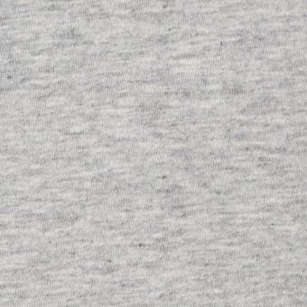 コットン×無地(杢グレー)×天竺ニット_全10色
