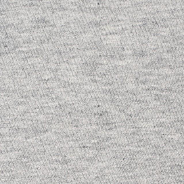 コットン×無地(杢グレー)×天竺ニット_全10色 イメージ1