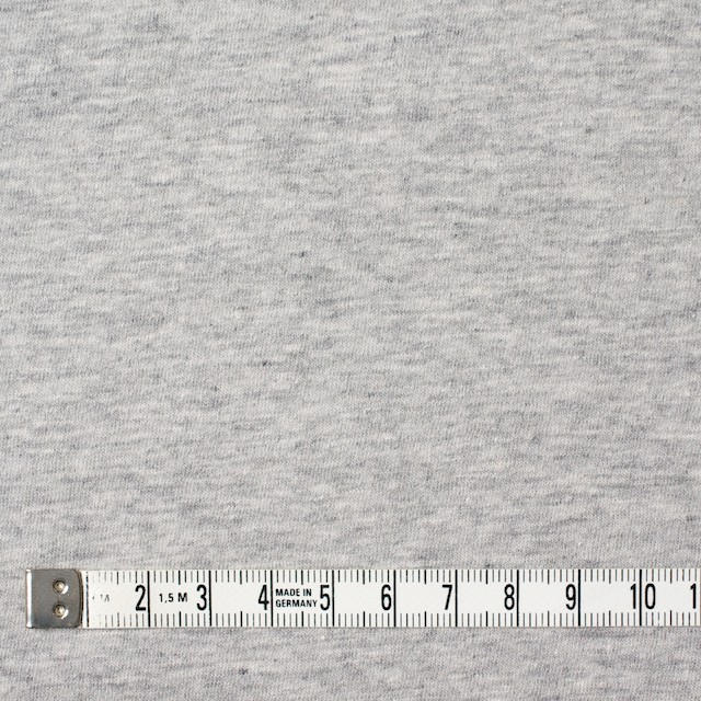 コットン×無地(杢グレー)×天竺ニット_全10色 イメージ4