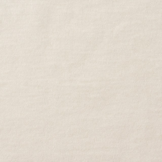 コットン×無地(アイボリー)×天竺ニット_全10色 イメージ1