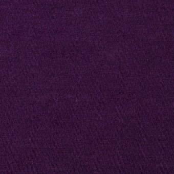 【150cmカット】コットン×無地(パープル)×天竺ニット_全10色