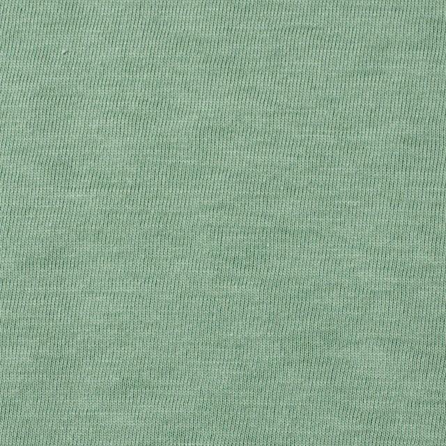 コットン×無地(ゴーディグリーン)×天竺ニット_全10色 イメージ1
