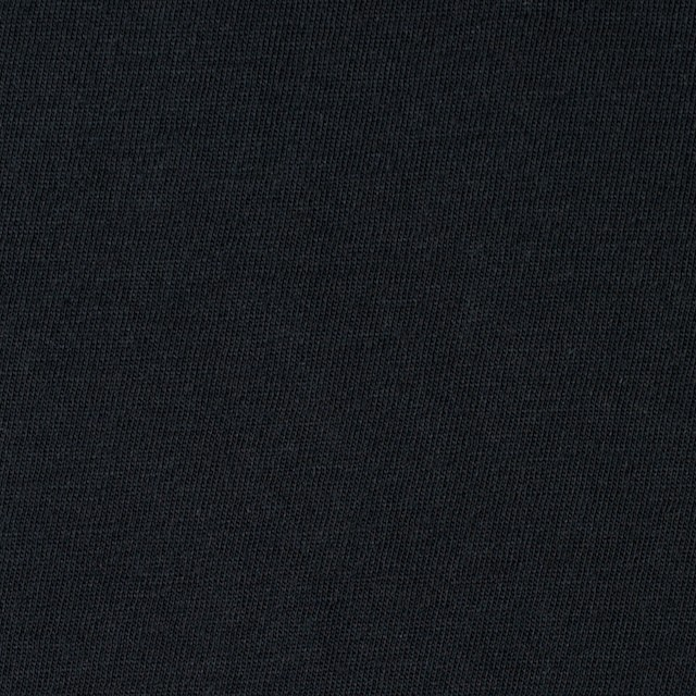 コットン×無地(ブラック)×天竺ニット_全10色 イメージ1