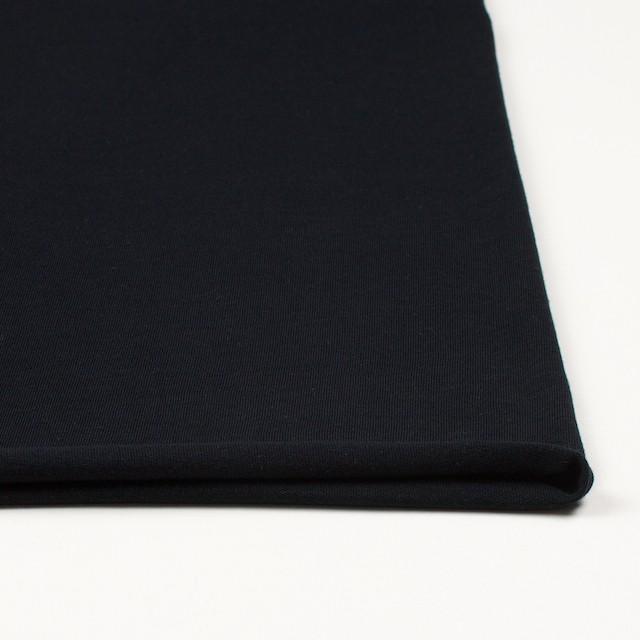 コットン×無地(ブラック)×天竺ニット_全10色 イメージ3