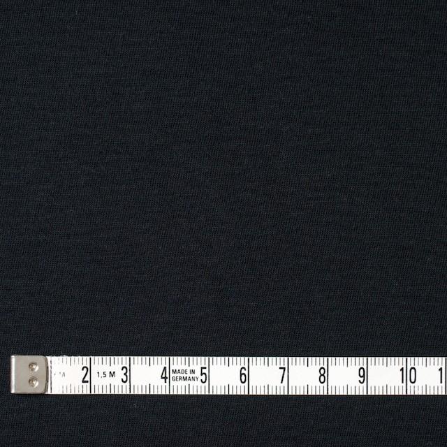 コットン×無地(ブラック)×天竺ニット_全10色 イメージ4