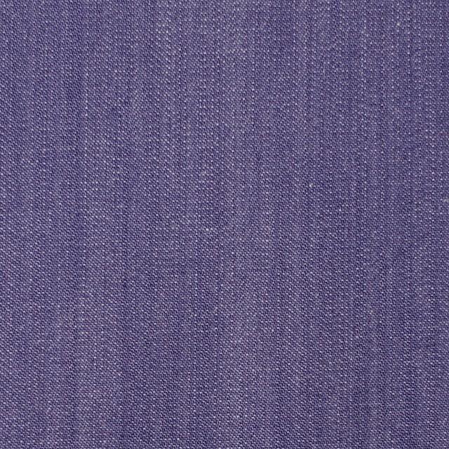 コットン&ポリウレタン×無地(バイオレット)×デニムストレッチ_全2色 イメージ1