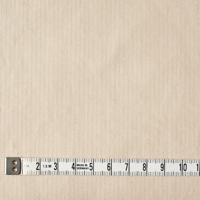 コットン×無地(ライトベージュ)×ヘリンボーンワッシャー_全3色 イメージ4