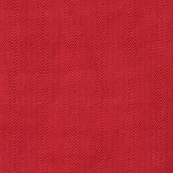 コットン×無地(レッド)×ヘリンボーンワッシャー_全3色 サムネイル1