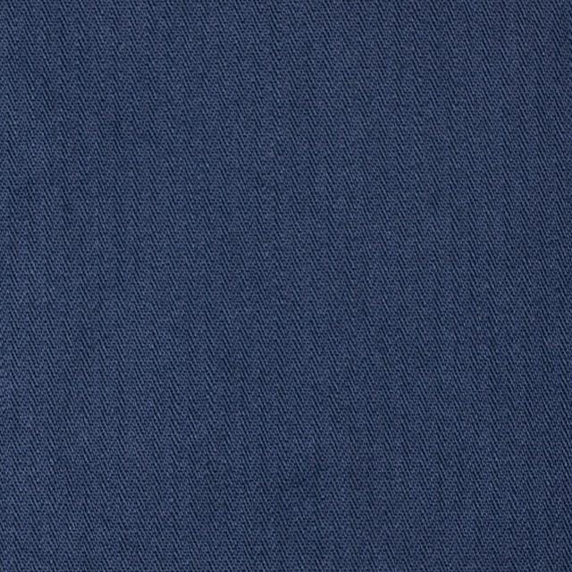 コットン×無地(ネイビーブルー)×ヘリンボーンワッシャー_全3色 イメージ1