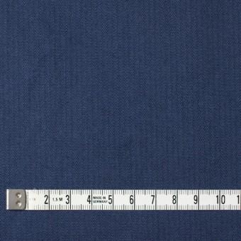コットン×無地(ネイビーブルー)×ヘリンボーンワッシャー_全3色 サムネイル4