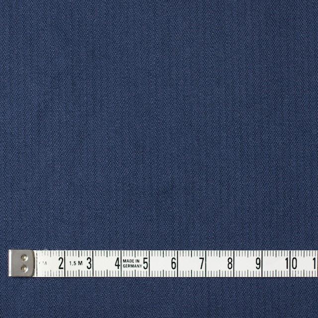 コットン×無地(ネイビーブルー)×ヘリンボーンワッシャー_全3色 イメージ4