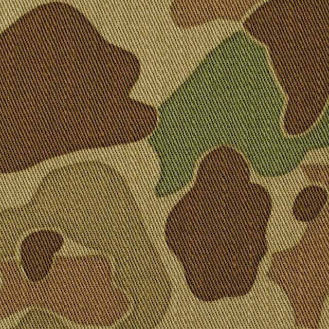 コットン×迷彩(カーキベージュ&ブラウン)×チノクロスWフェイス イメージ1