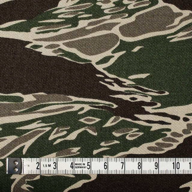 コットン×迷彩(グリーン&ダークブラウン)×チノクロス イメージ4