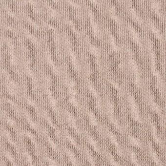 コットン×無地(ピンクベージュ)×裏毛ニット サムネイル1