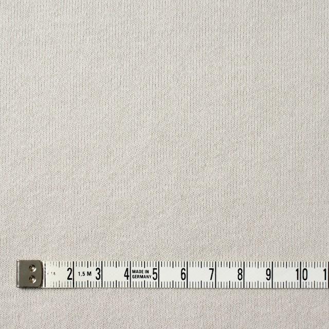 コットン×無地(アイスグレー)×裏毛ニット イメージ4