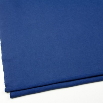 コットン×無地(ブルー)×裏毛ニット サムネイル2