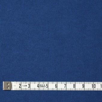 コットン×無地(ブルー)×裏毛ニット サムネイル4