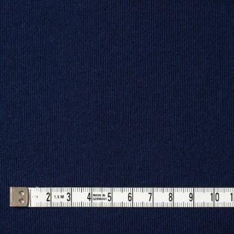 コットン×無地(ダークネイビー)×裏毛ニット サムネイル4