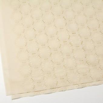 コットン×オーバル(カスタードクリーム)×ローン刺繍_全10色 サムネイル2