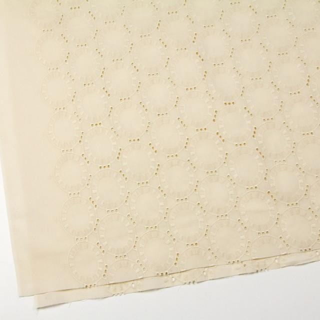 コットン×オーバル(カスタードクリーム)×ローン刺繍_全10色 イメージ2